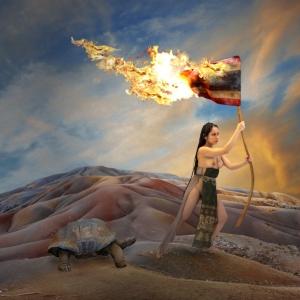 The Burning Flag